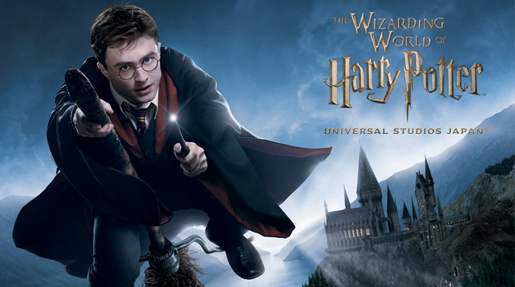 3.the wizarding world of harry potter
