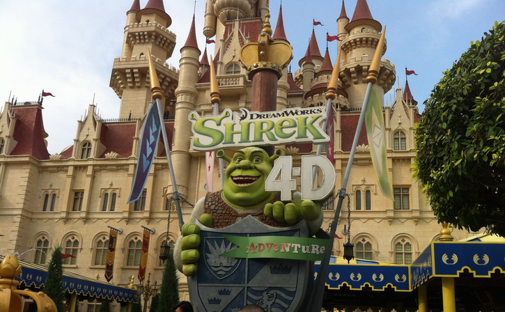 5.Shreks 4D adventure
